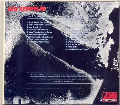 cd led zeppelin - led zeppelin i - deluxe edition 2cd 1968