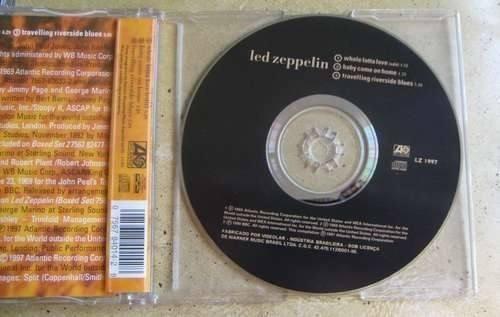 cd led zeppelin whole lotta love - single ( 3 faixas ) novo