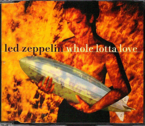 cd led zeppelin - whole lotta love -single nacional 3 faixas