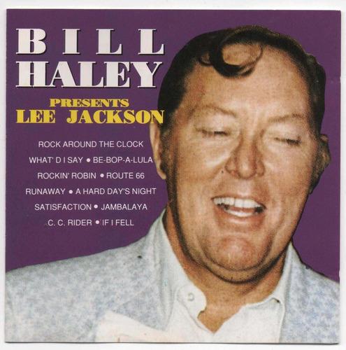 cd - lee jackson rock bill haley presents - 1976