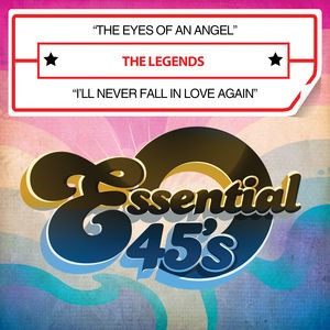 cd legends eyes of an angel /  i'll never fall in love again
