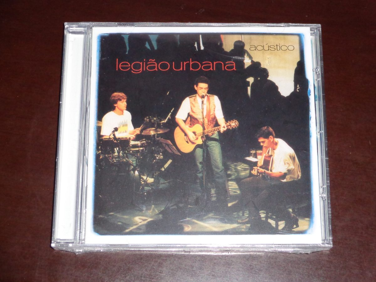 cd do legiao urbana acustico mtv