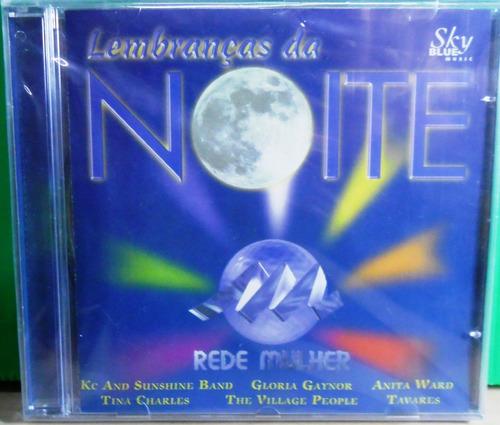 cd lembranças da noite dance da rede mulher original lacrado