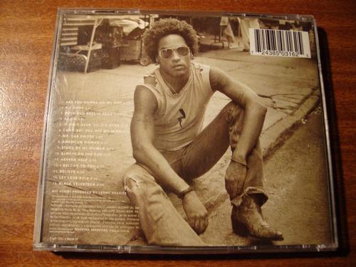 cd  lenny kravitz   greatest hits