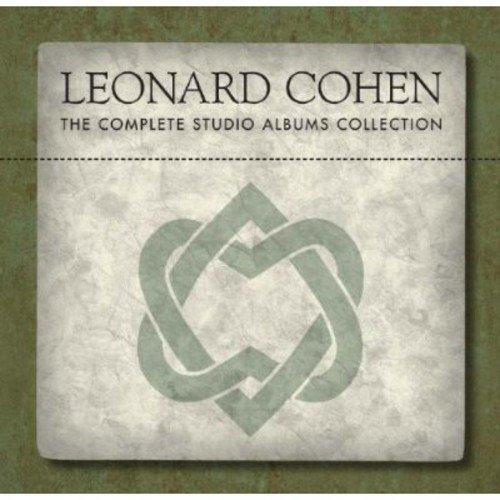 cd : leonard cohen - complete studio albums collection (...