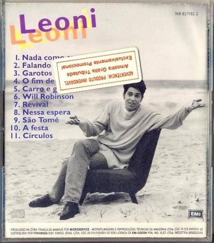cd leoni - leoni - 1993 - heróis da resistência kid abelha
