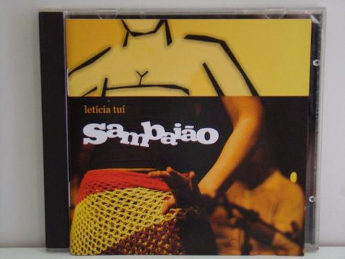 cd - letícia tuí: sambaião(2006)