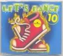 cd - lets dance 10 - remixes raros   -  b43