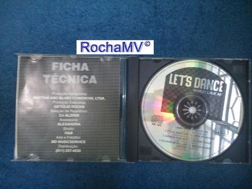 cd let's dance - vamos dançar (raridade)