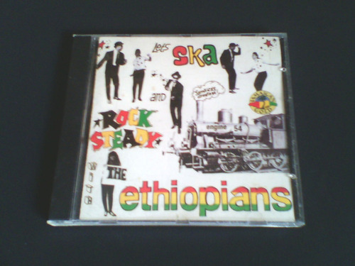 cd  lets ska and rock stedy - the ethiopians engine ´54