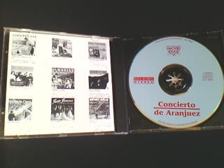 cd lex vandyke - concierto de aranjuez