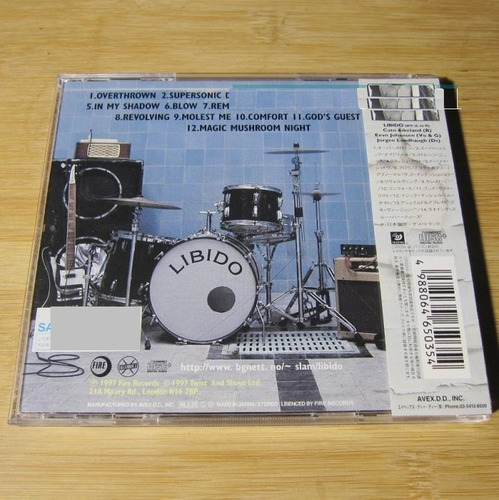 cd libido - killing some dead time (japan w/ obbi) + 2 bonus