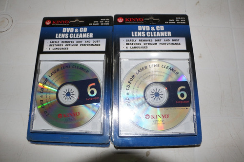 cd limpiador de lente para dvd blue ray