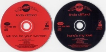 cd linda clifford - let me be your woman / here's my love