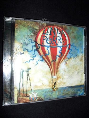 cd linda perry (1996) - in flight / 4 non blondes - japonês