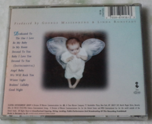 cd linda ronstadt dedicated to the one i love