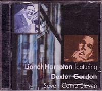 cd lionel hampton e dexter gordon - seven come eleven (usado