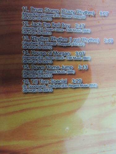 cd - lionel hampton - stompology (novo-original-lacrado)