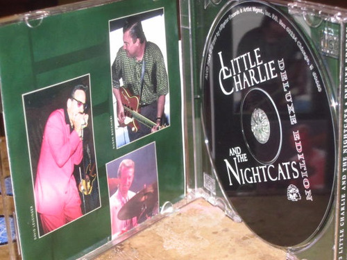 cd little charlie and the nightcats - deluxe edition (1997)