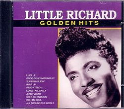 cd little richard - golden hits (novo/aberto)