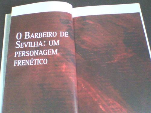cd + livro rossini o barbeiro de sevilha (c/folha) vol 3