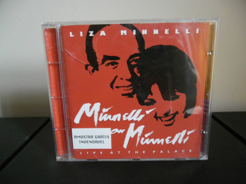 cd liza minnelli - minnelli on minnelli