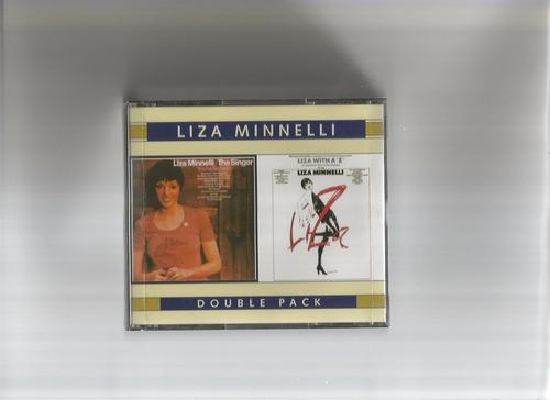 cd liza minnelli - the singer e a z (usado/otimo)
