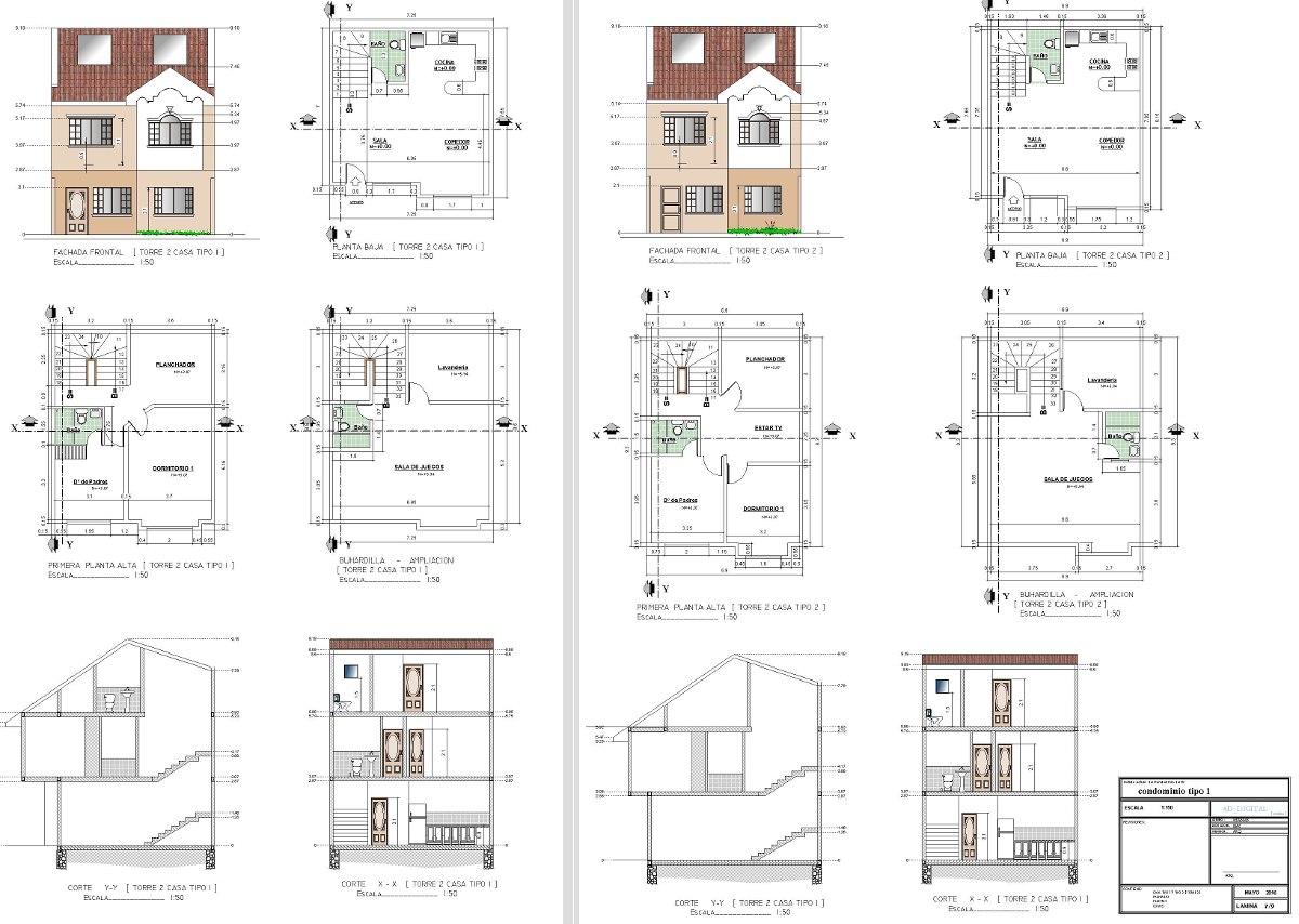 Cd lleno de planos completos de casas u s 79 00 en for Planos completos de casas pdf