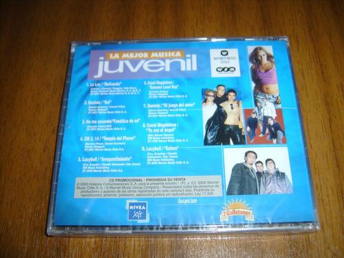 cd lo mejor de la musica / la ley, lucybell, varios(sellado)