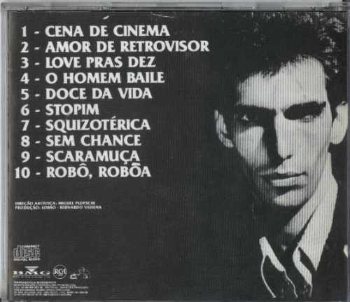 cd lobão - cena de cinema - 1982 - babaquara
