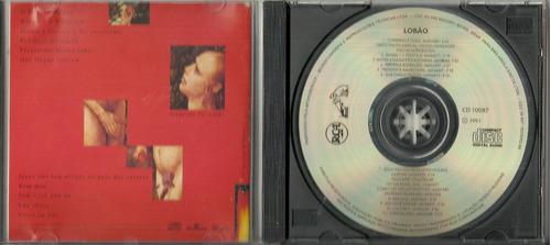 cd lobão - o inferno é fogo - 1991 - raridade rock nacional