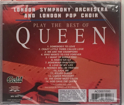 cd london symphony play the best of queen