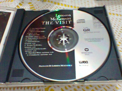 cd loreena mckennitt / the visit   -1991-