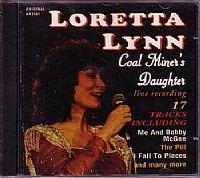 cd loretta lynn - coal miners daughter (usado/otimo)