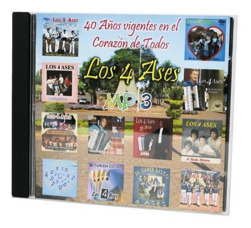 cd los 4 ases - 40 años vigentes en el corazón de la gente