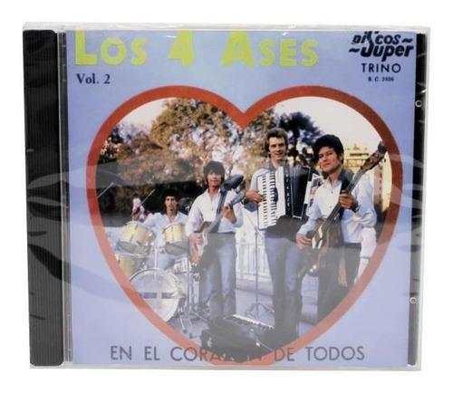 cd los 4 ases   en el corazon de todos