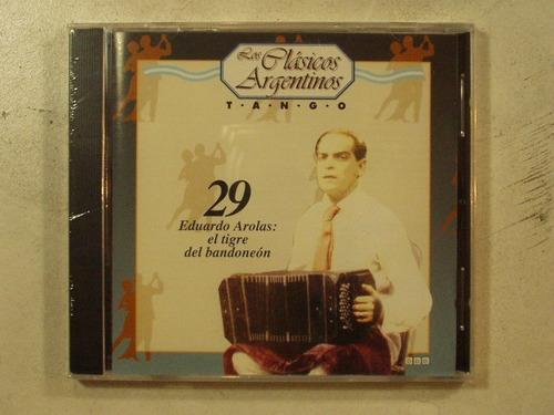 cd los clasicos argentinos vol 29 eduardo arolas la plata