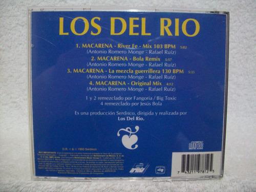 cd los del rio- macarena- cd importado