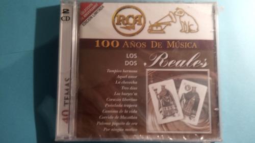 cd los dos reales 2cds 100 años de musica nuevo sellado-mdd-