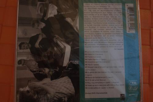 cd los fabulosos cadillacs la luz del ritmo cd+dvd