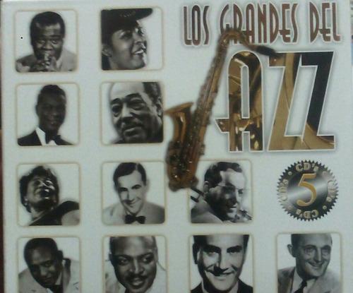 cd los grandes del jazz  ella fitzgerald louis armstrong