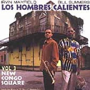 cd  los hombres calientes new congo square, vol. 3