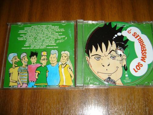 cd los miserables / date cuenta (primera edicion)