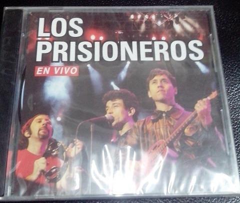 cd - los prisioneros / en vivo (nuevo y sellado)