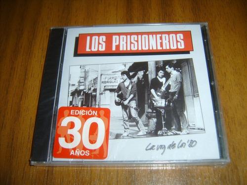 cd los prisioneros / la voz de los 80 (edic 30 años) sellado
