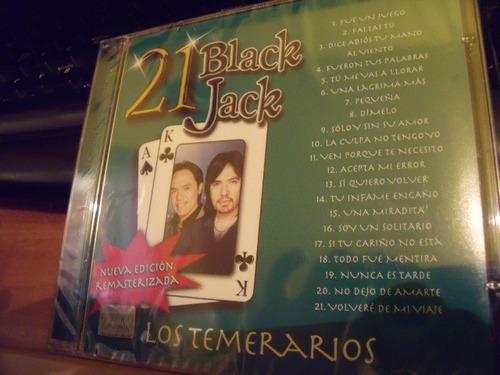 cd los temerarios black jack,