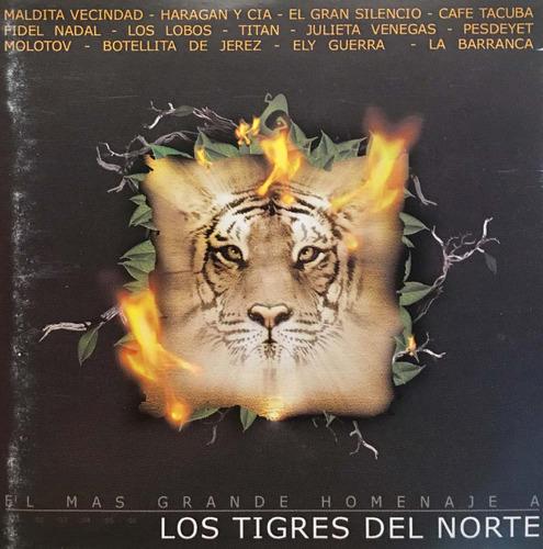 cd los tigres del norte el mas grande homenaje a