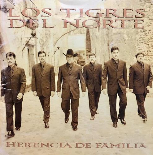 cd los tigres del norte herencia de familia 2cds usado
