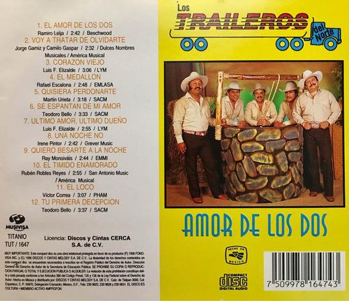 cd los traileros del norte amor de los dos usado