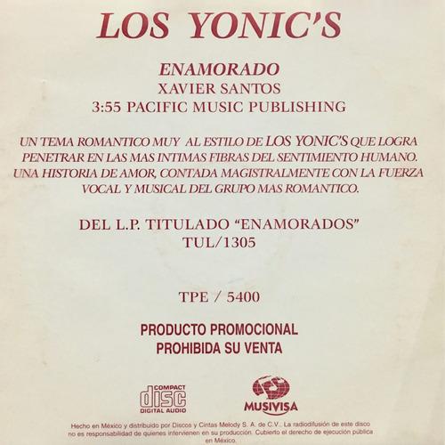 cd los yonics enamorado promo usado